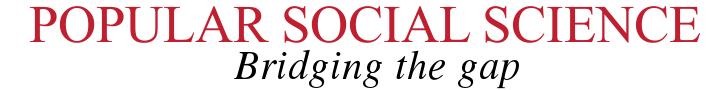 Popular Social Science